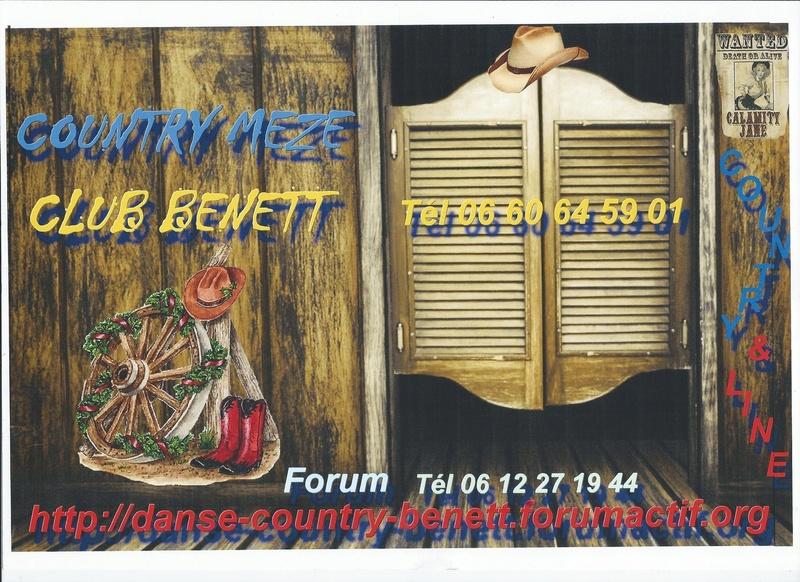 forum danse country benett meze