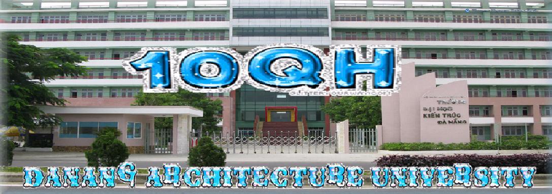 Tập thể 10QH Đại Học kiến trúc Đà Nẵng