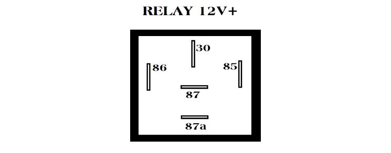 penggunaan relay 12v