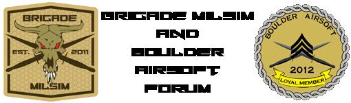 Boulder Airsoft & Brigade Milsim