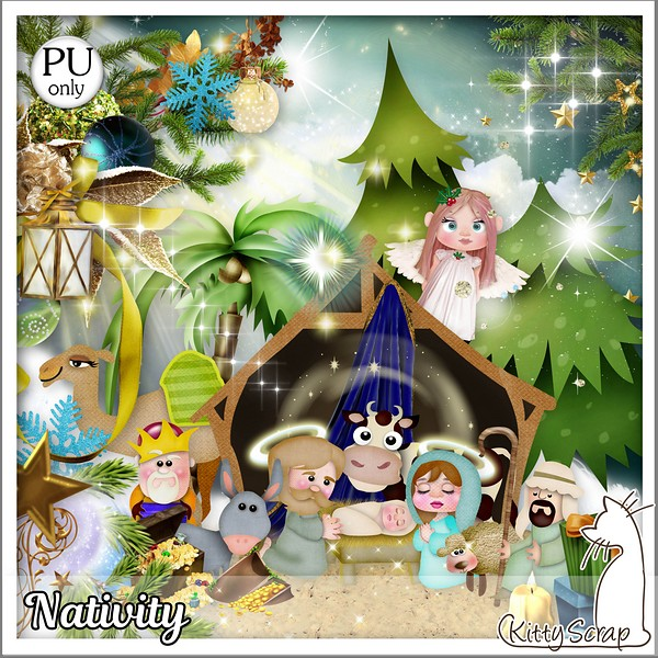 Nativity de Kittyscrap dans Janvier kitty139