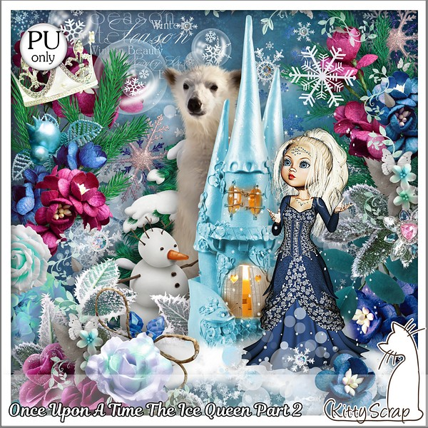 Once upon a time The ice Queen 2 de Kittyscrap dans Janvier kitty160