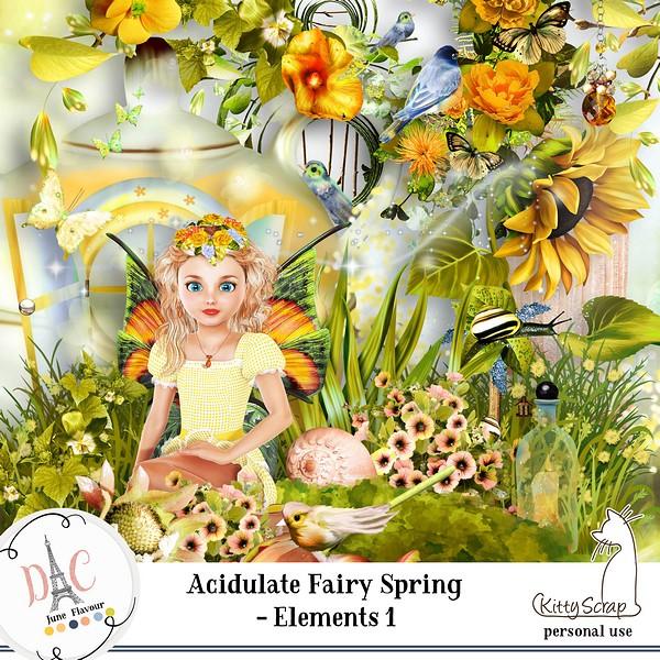 Acidulate fairy spring de Kittyscrap dans juin previ190