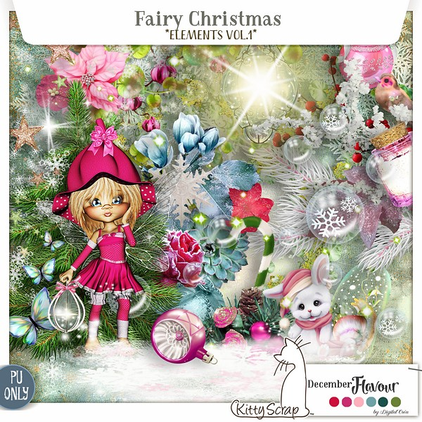 Fary Christmas de Kittyscrap dans Decembre previe38