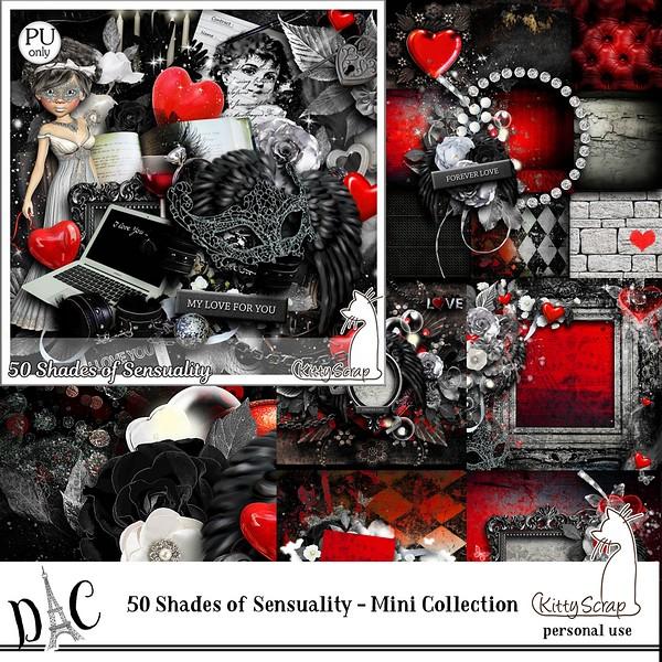 50 Shades if sensuality la collection de Kittyscrap dans Février previe84