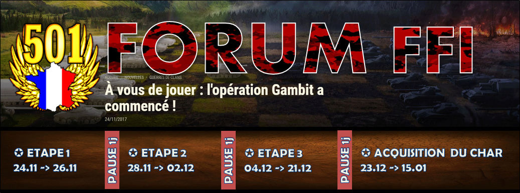 FORUM OFFICIEL 501 FFI