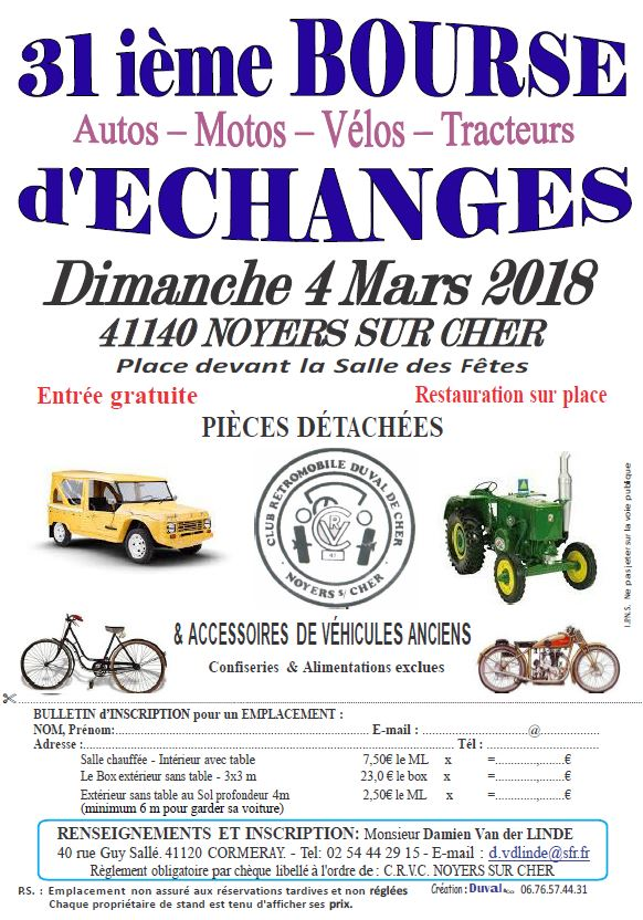 Bourses Expos Rallyes Balades Mars 2018 Voitures Anciennes