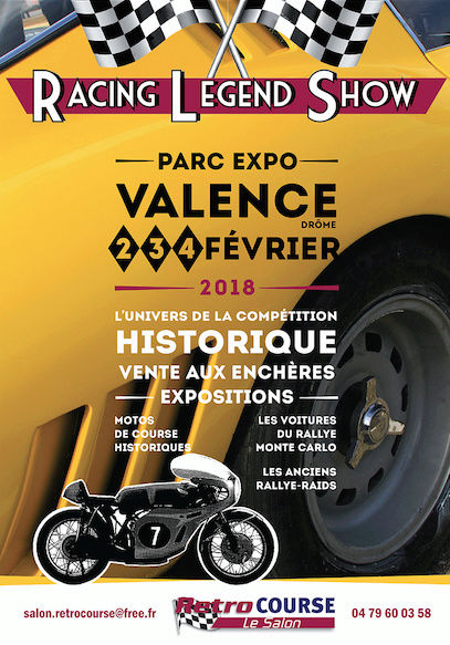 bourses, expos, rallyes, balades - février 2018 - voitures anciennes