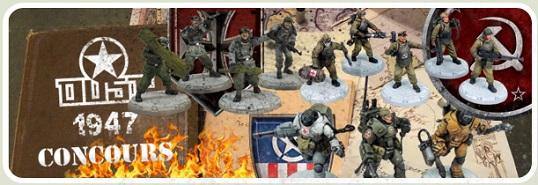 Concours de modélisme : figurines escouades de rangs 1 à 4. (préparation jusqu'au 24 décembre)