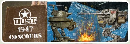 Concours de modélisme : véhicules et monstres. (les votes jusqu'au 22 juillet !)