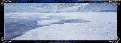 la plage de glace