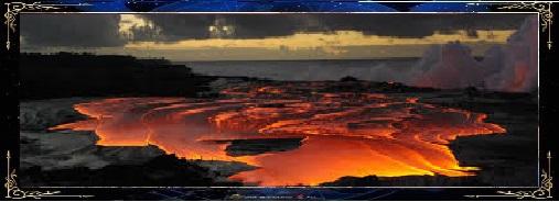 les lac de feu