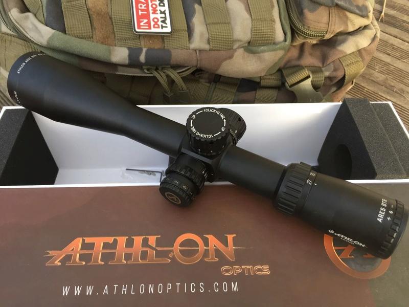Longue 27x50 Sujet Ares 5 Distance Afficher Tir 4 • Athlon Le Btr tdhrsQ