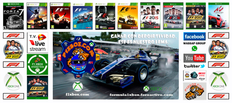 FORMULA 1 XBOX / XBOX ONE - F1 2017 / OFFICIAL SPANISH TEAM