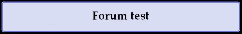 Test-forum