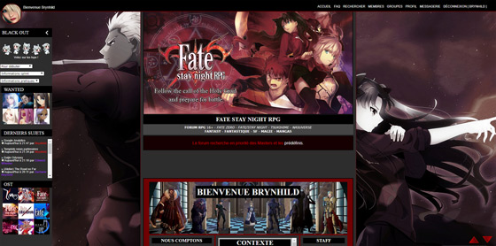 Fate Stay Night RPG