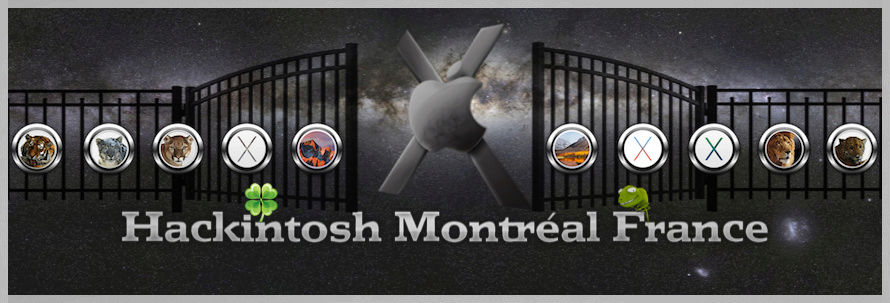 HACKINTOSH MONTRÉAL & FRANCE