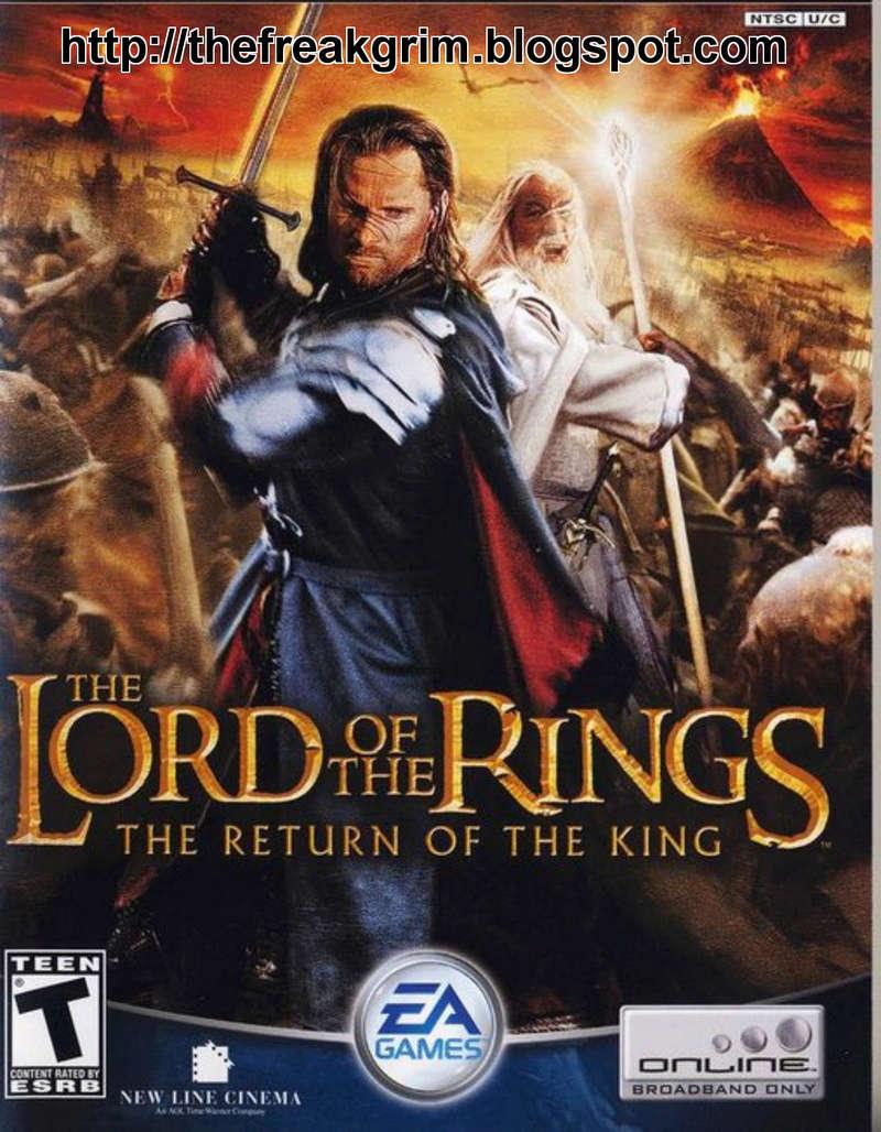 el señor de los anillos, el retorno del rey, videojuego, videogame, pc, xbox, playstaion, ps2, gamecube