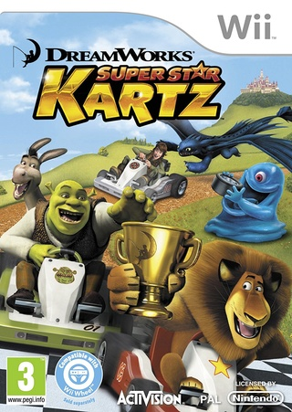 [Wii] DreamWorks Super Star Kartz