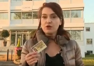 une journaliste