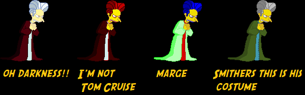 Mr  Burns is Dracula by Warner - Downloads - The MUGEN ARCHIVE