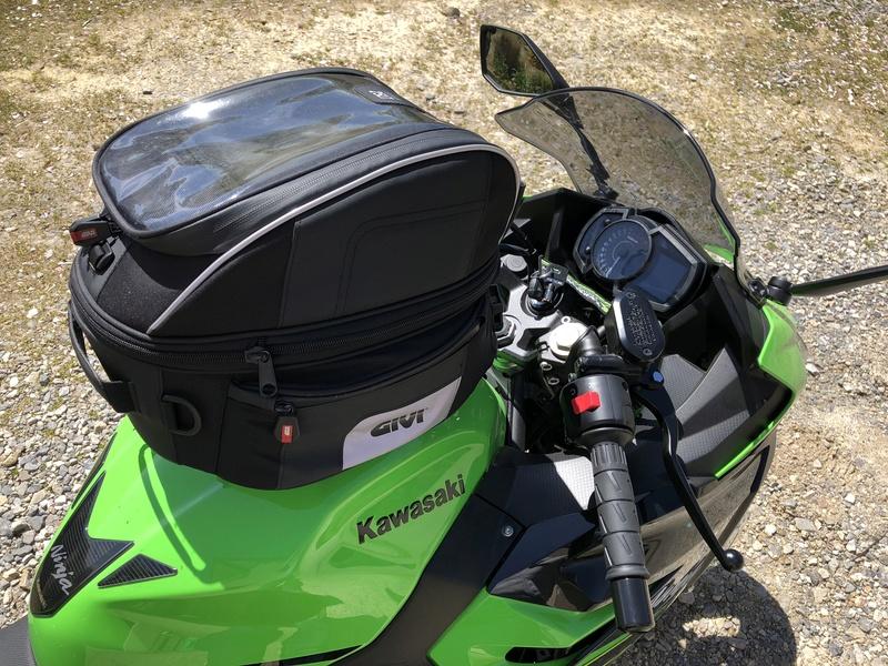 Bagspanniersluggage Kawasaki Ninja 400 Forum