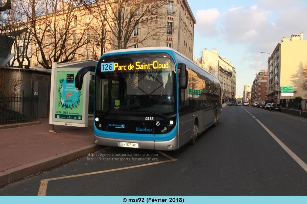 Bolloré Bluebus RATP 341