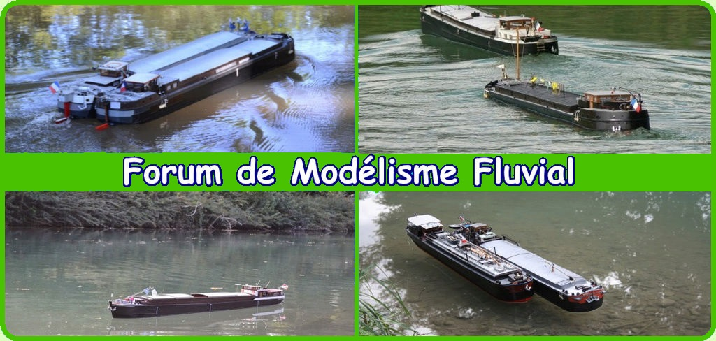 Maquette fluvial