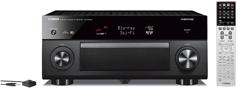 Yamaha aventage rx a2040 av receiver sold for Yamaha receiver customer support phone number