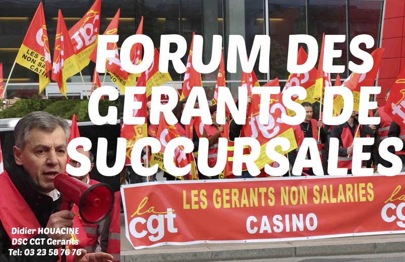 FORUM DES GERANTS CASINO
