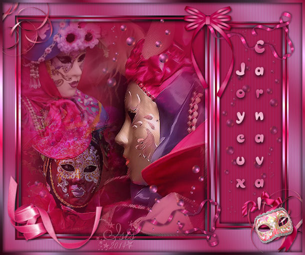 **Carnaval de Venise fuschia** dans Carnaval carnav23
