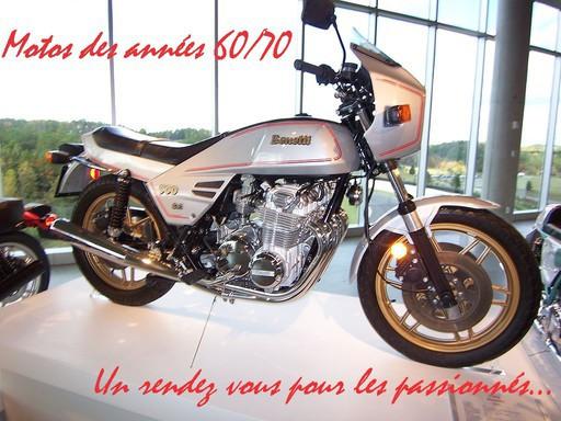 Motos des années 60/70