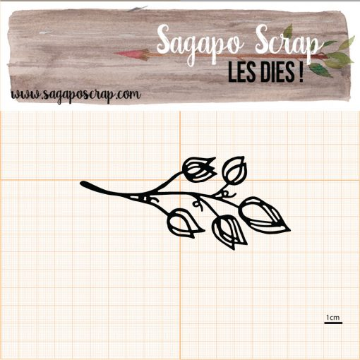 Die feuillage (collection 2) Sagapo Scrap