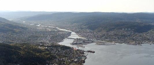 vue de Drammen