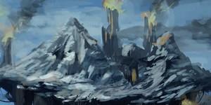 Montagnes et Grottes