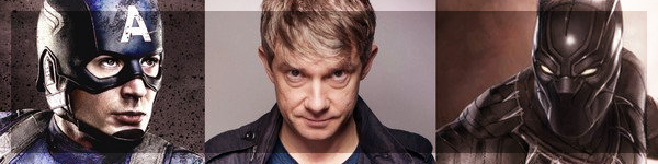 Black Panther Martin Freeman