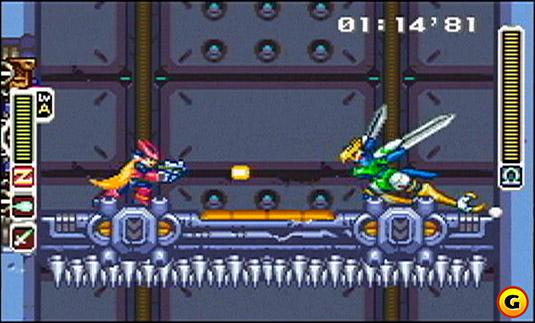 Megaman Zero Gameplay