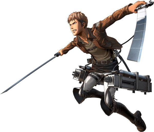 Attack on Titan 2 Personaggi 01
