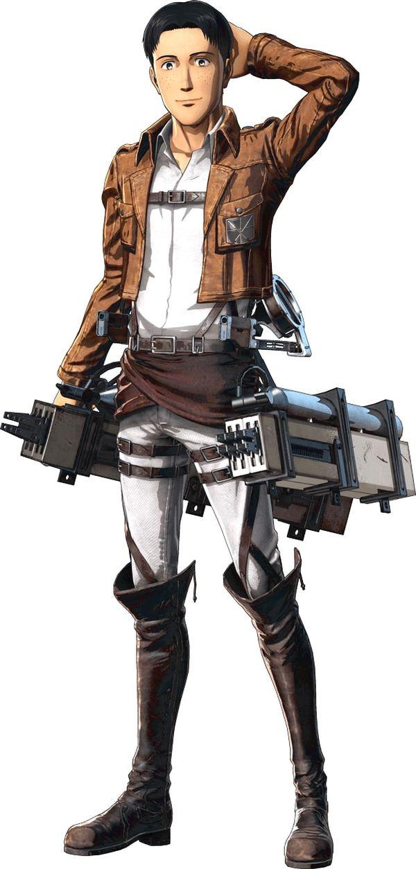 Attack on Titan 2 Personaggi 04