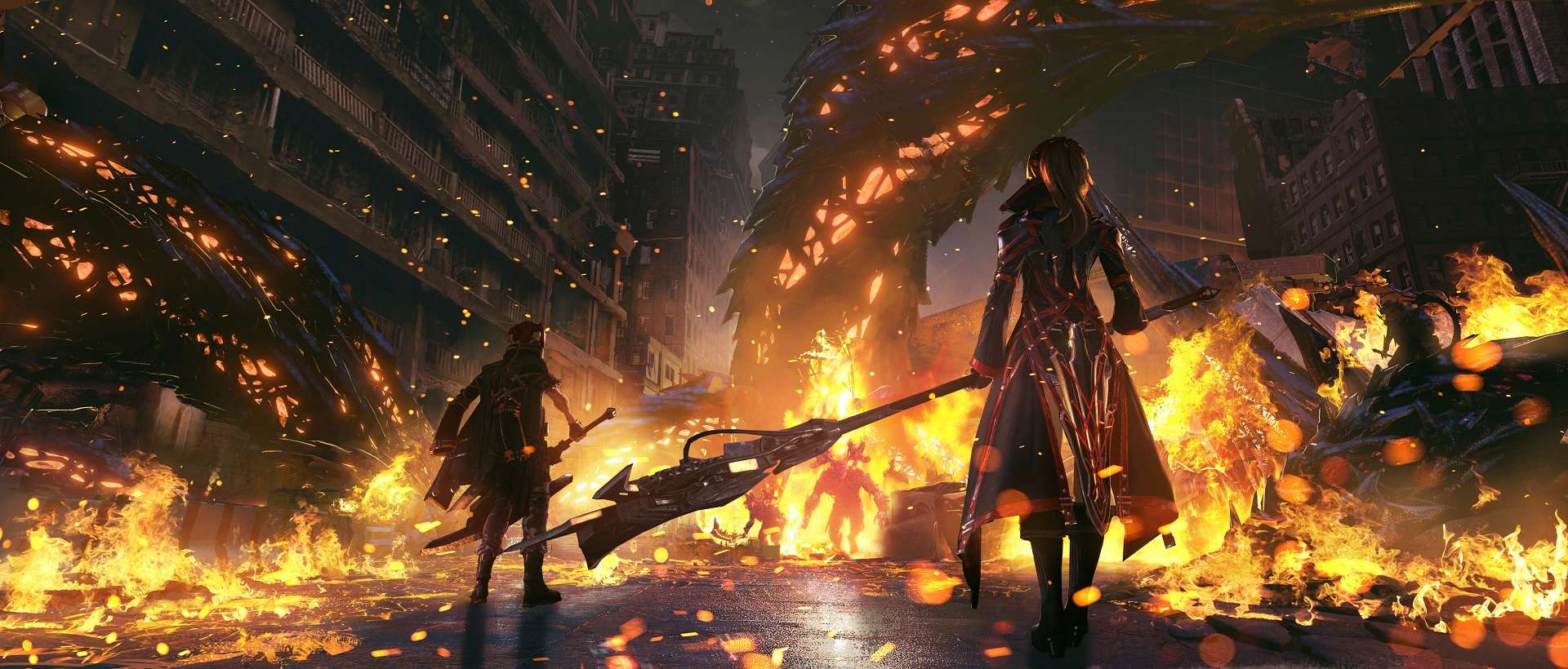 Code Vein - City of Falling Flames