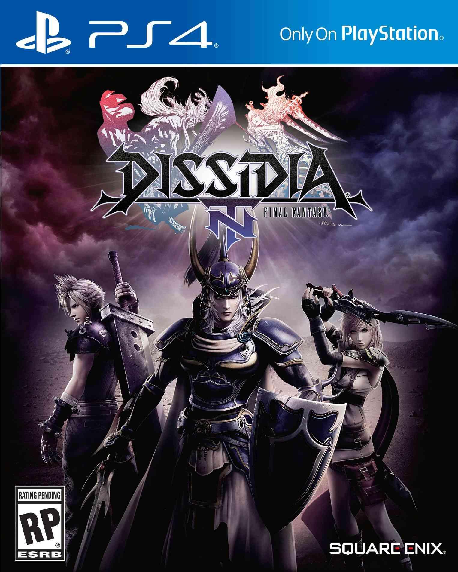 Dissidia Final Fantasy NT Cover