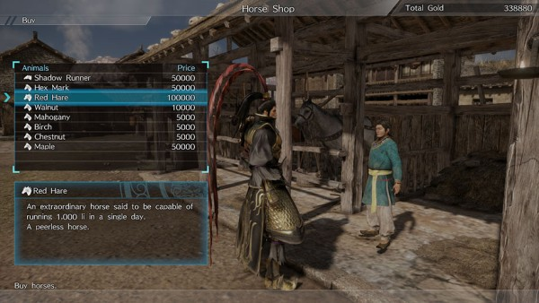 Dynasty Warriors 9 Cavalli 1