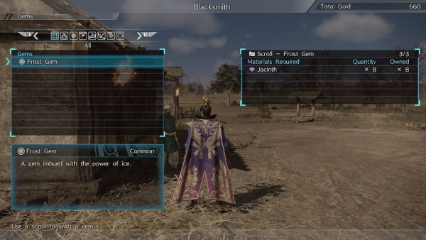 Dynasty Warriors 9 Crafting 2
