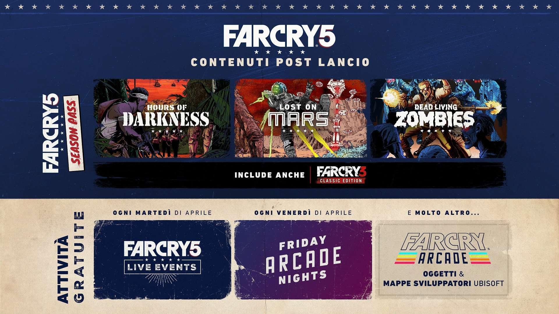 Far Cry 5 - Post Lancio