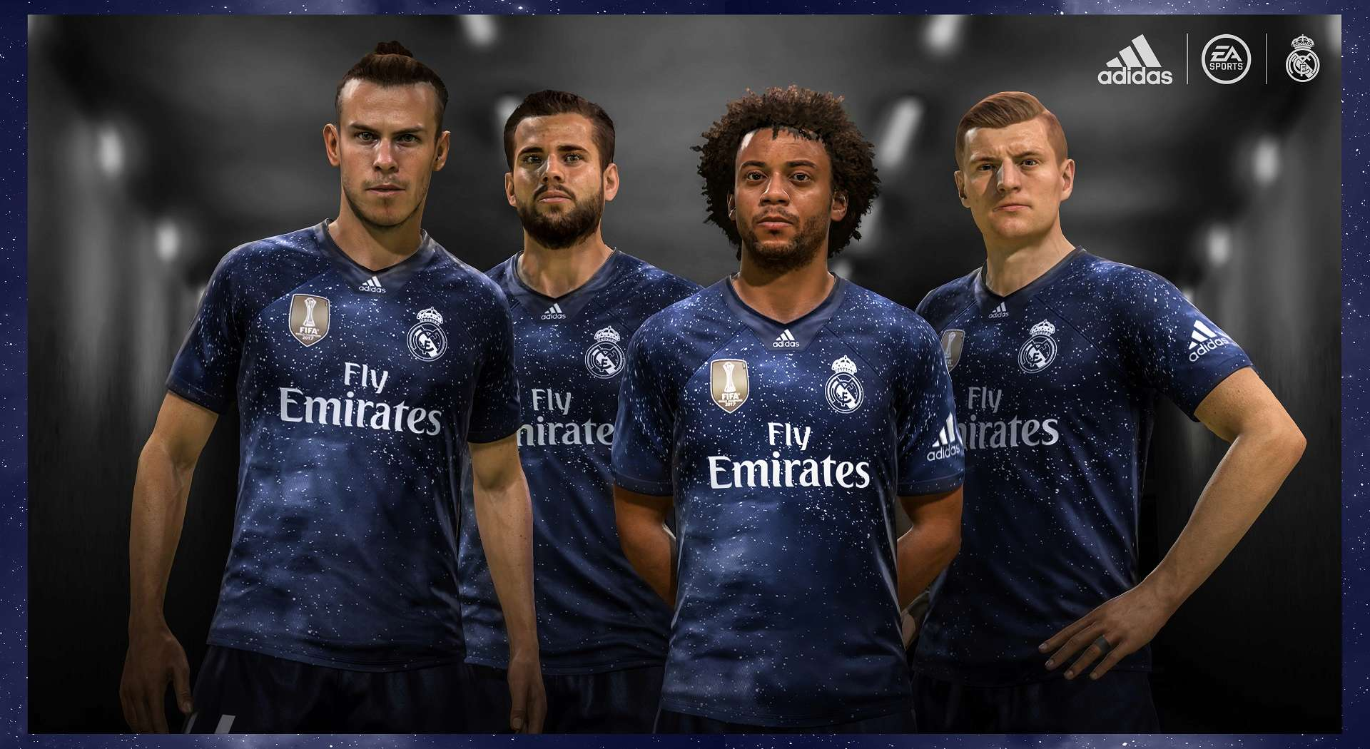 FIFA 19 EA Sports Jersey Real Madrid
