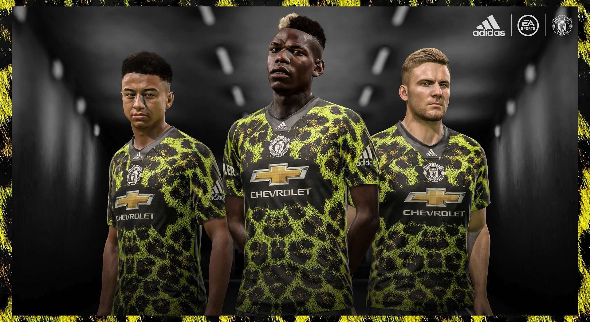 FIFA 19 EA Sports Jersey Manchester United
