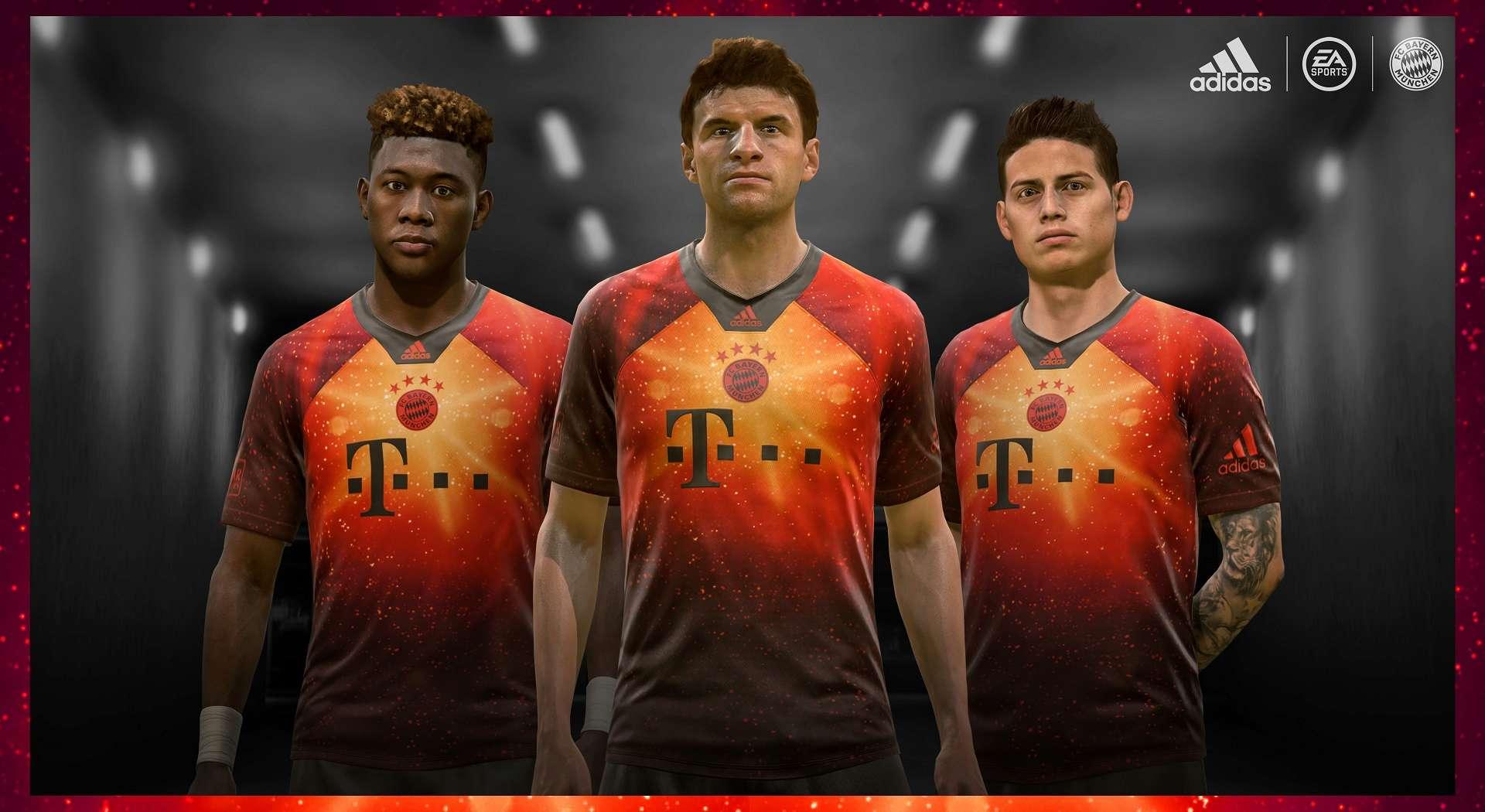 FIFA 19 EA Sports Jersey Bayern Monaco