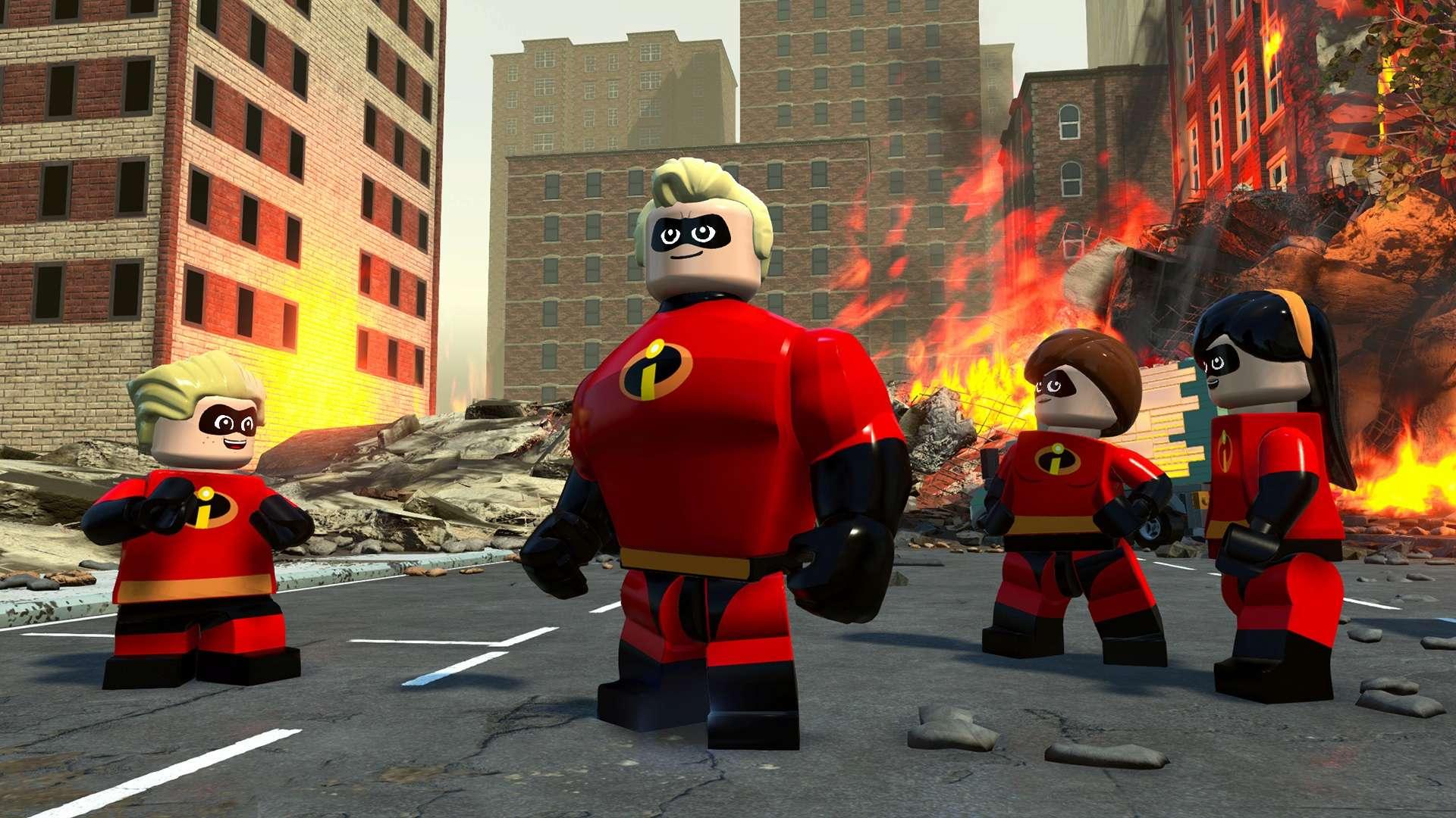 LEGO Gli Incredibili 01