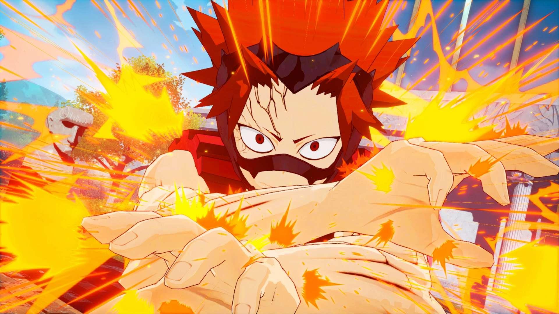 My Hero One's Justice - Eijiro Screen