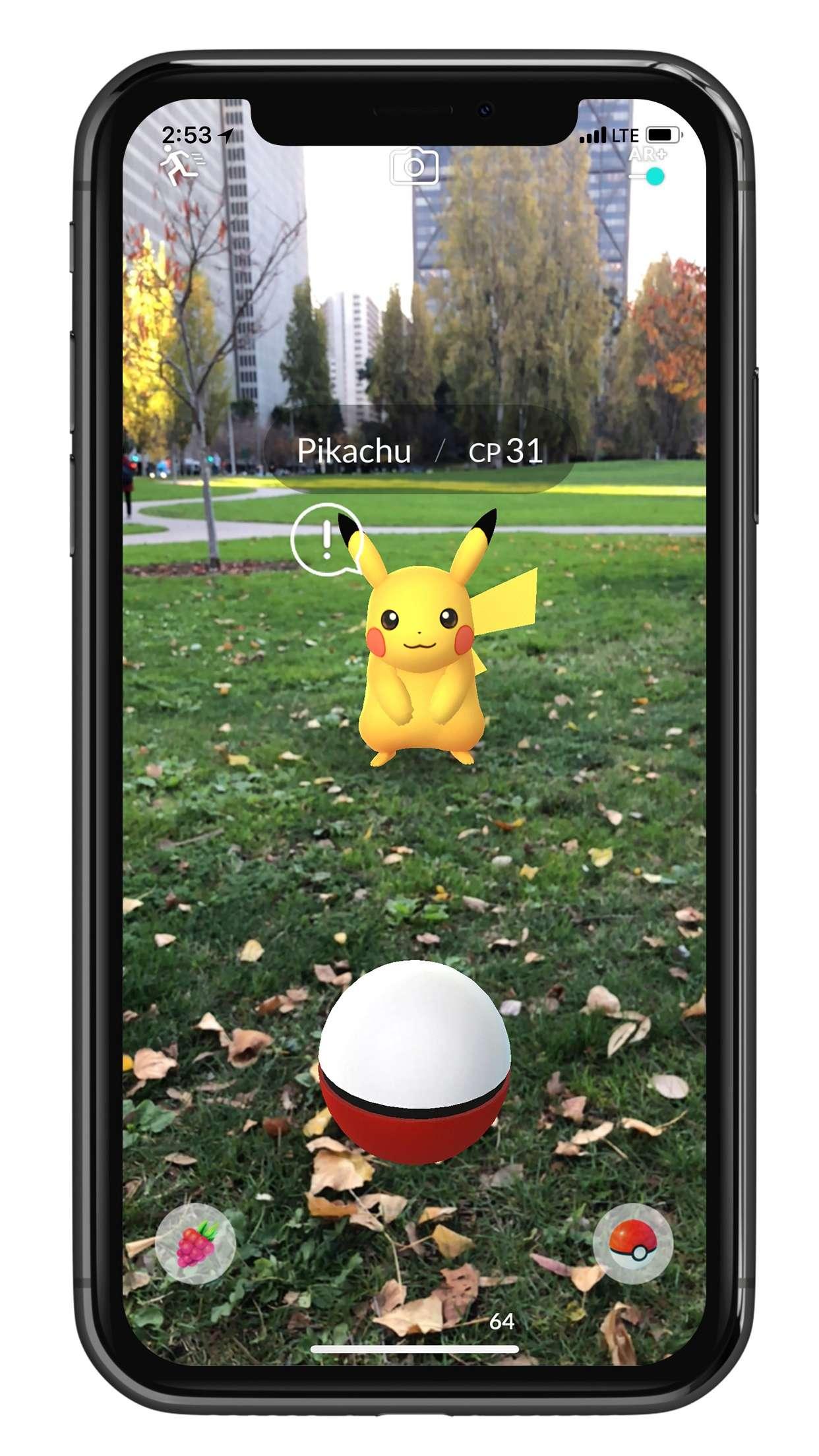 Pokemon GO AR+ 3